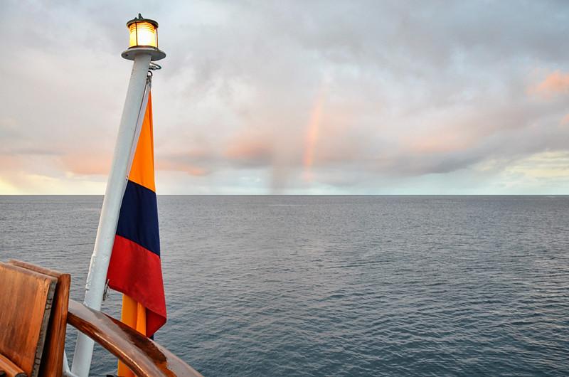 Rainbow from Isabela II