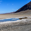 Salty, standing water at Badwater Basin