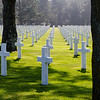 US Military Cemetary above Omaha Beach