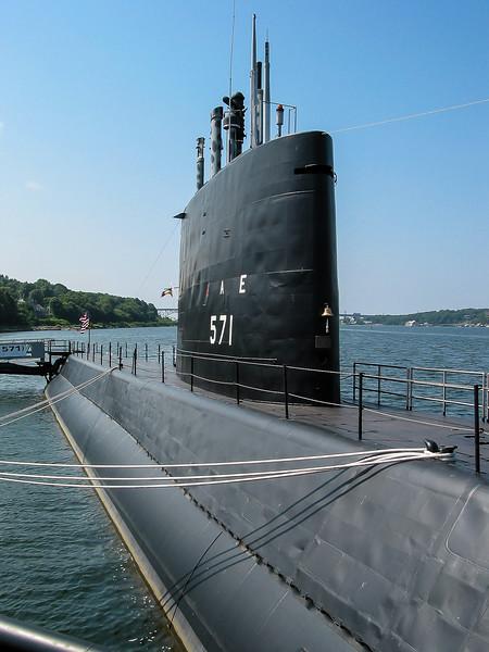 USS Nautilus at Groton CT