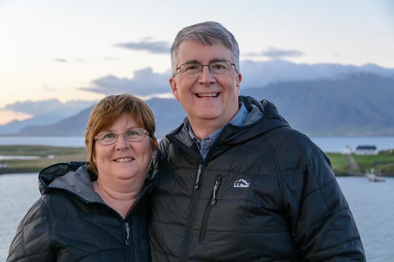 Linda & Joe in Iceland