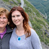 Linda and Shannon at the Troll Path