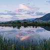 Sunset at Flatcreek, Jackson WY