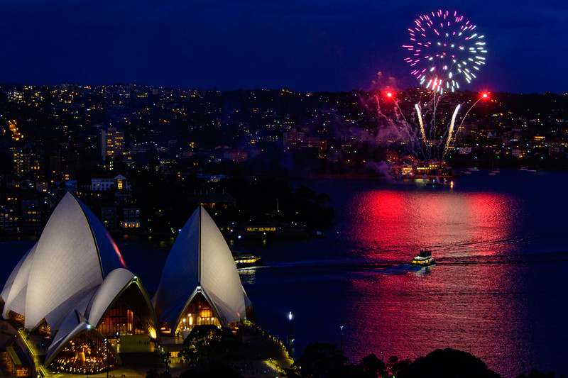 Syney Harbour Fireworks
