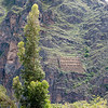 Granary, Terraces and face on the Mountain at Ollantaytambo