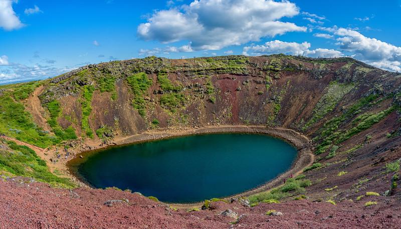 Kerið -- Crater Lake, Iceland
