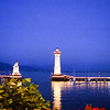 Lindau Lighthouse at Night