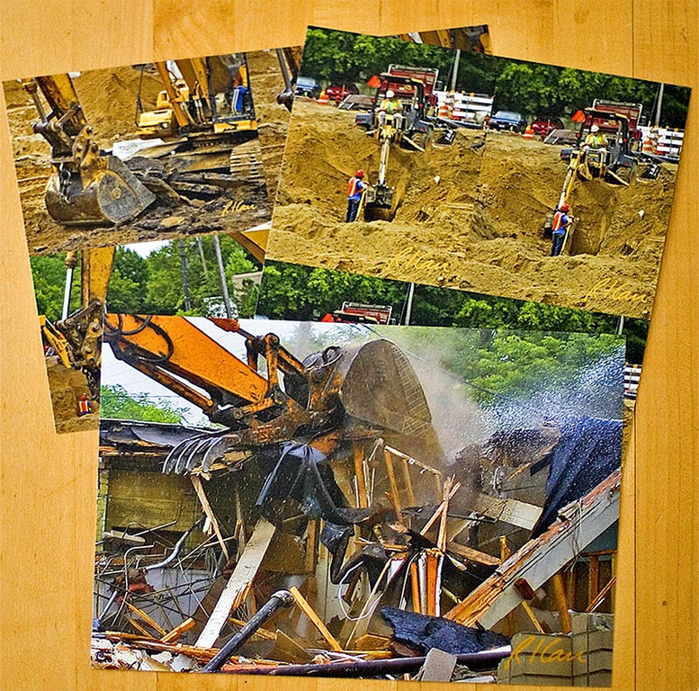 The other good ways to get photos for your Construction Photo Book are:<br /> 1. Purchase them from the web site, SmugMug, that hosts MyConstructionPhotos, as has been done here. <br /> 2. Save the original photo .jpg files as described below and have them printed at a local hometown photo print shop or send them to an on-line print shop, of which there are several (Shutterfly, Walmart, etc).<br /> Among the different types of paper, I like glossy for construction photos to show color and details the best , whether I am purchasing prints or printing the photos myself.