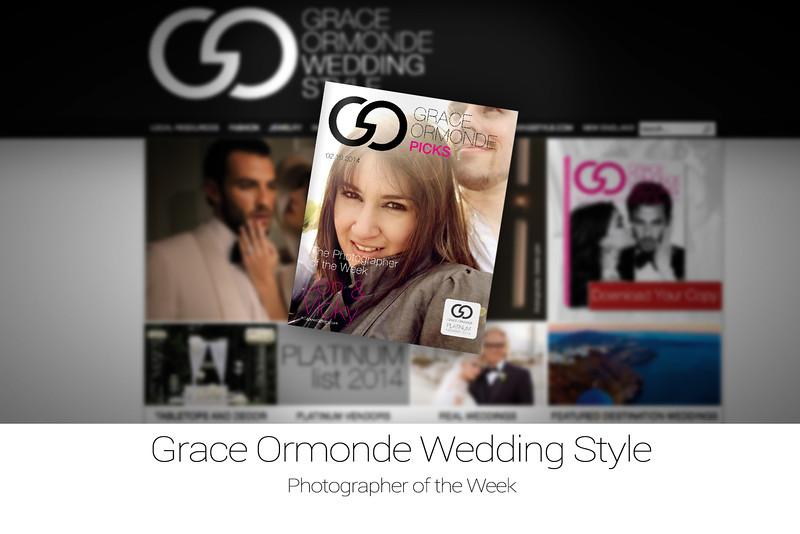 "Le Cape Weddings is now <a href=""http://issuu.com/weddingstylemagazine/docs/le_cape_weddings"">Grace Ormonde Wedding Style</a> photographer of the week!"