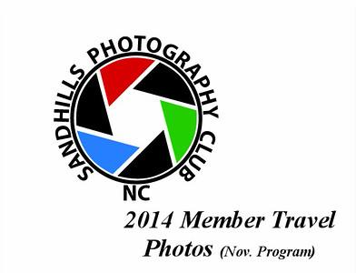 2014 Member Travel Photos