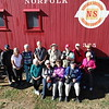 Back Row L to R, Bernard Shamberger, Susan Bailey, Tobé Saskor, John Grman, Wendell Dance, Jim Davis, Gary Magee, Neva Scheve, Janice Huff, Alison Earl, Diane McCall, Jim Smith. 2019 New Hope Valley Railway Outing.