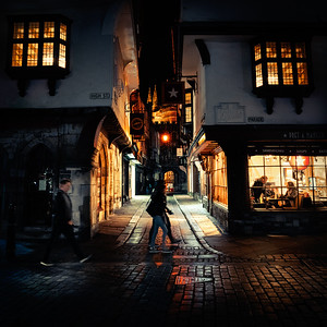 The Old city, Canterbury