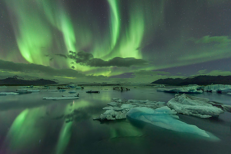 Naturally, no trip to Iceland in winter would be complete without you bringing home some stunning images of the natural play of lights in the sky called the Aurora Borealis  Read more