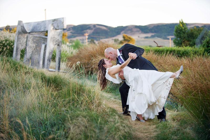 Carl Palladino and Janine Lupo's wedding. Cornerstone Gardens, Napa, California. July 21, 2012.<br /> <br /> Photo by Jessica Brandi Lifland