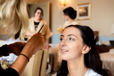Bridal makeup photograph