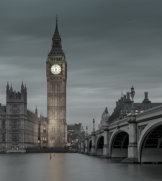 Westminster Bridge and Big Ben by Profound Image Photography