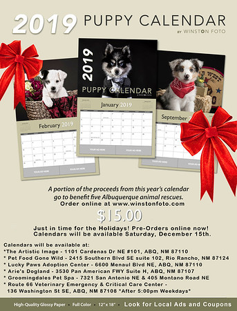 Puppy Calendar Sales Sheet - JPEG-15dollarv1