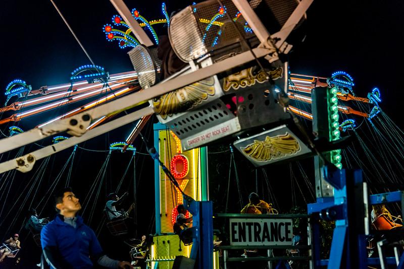 A carnival in Malibu California.
