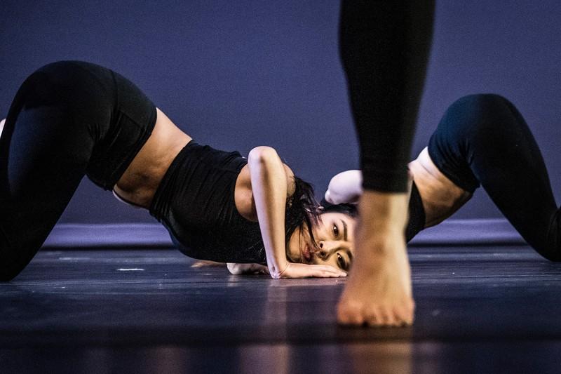 Dancers peforming