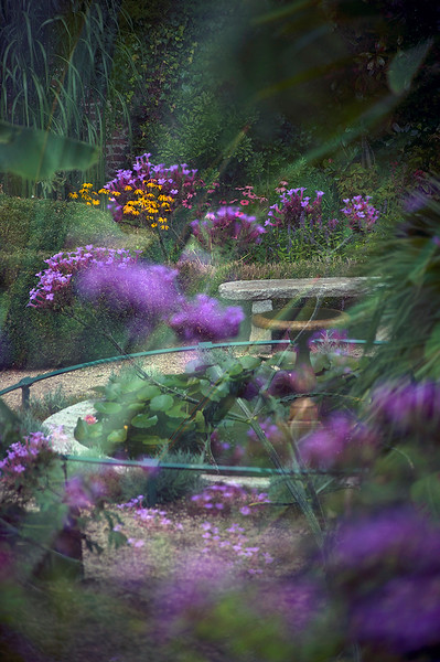 Tregenna Castle Estate, walled garden.