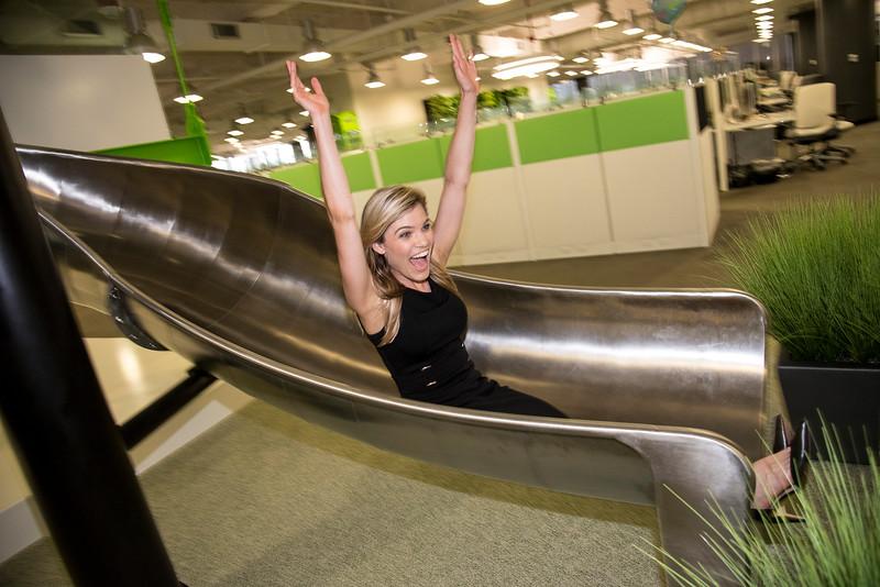 Angela, an employee at Houzz