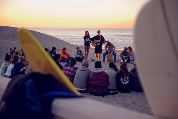 Ron Hall | Surf Group at Zuma Beach