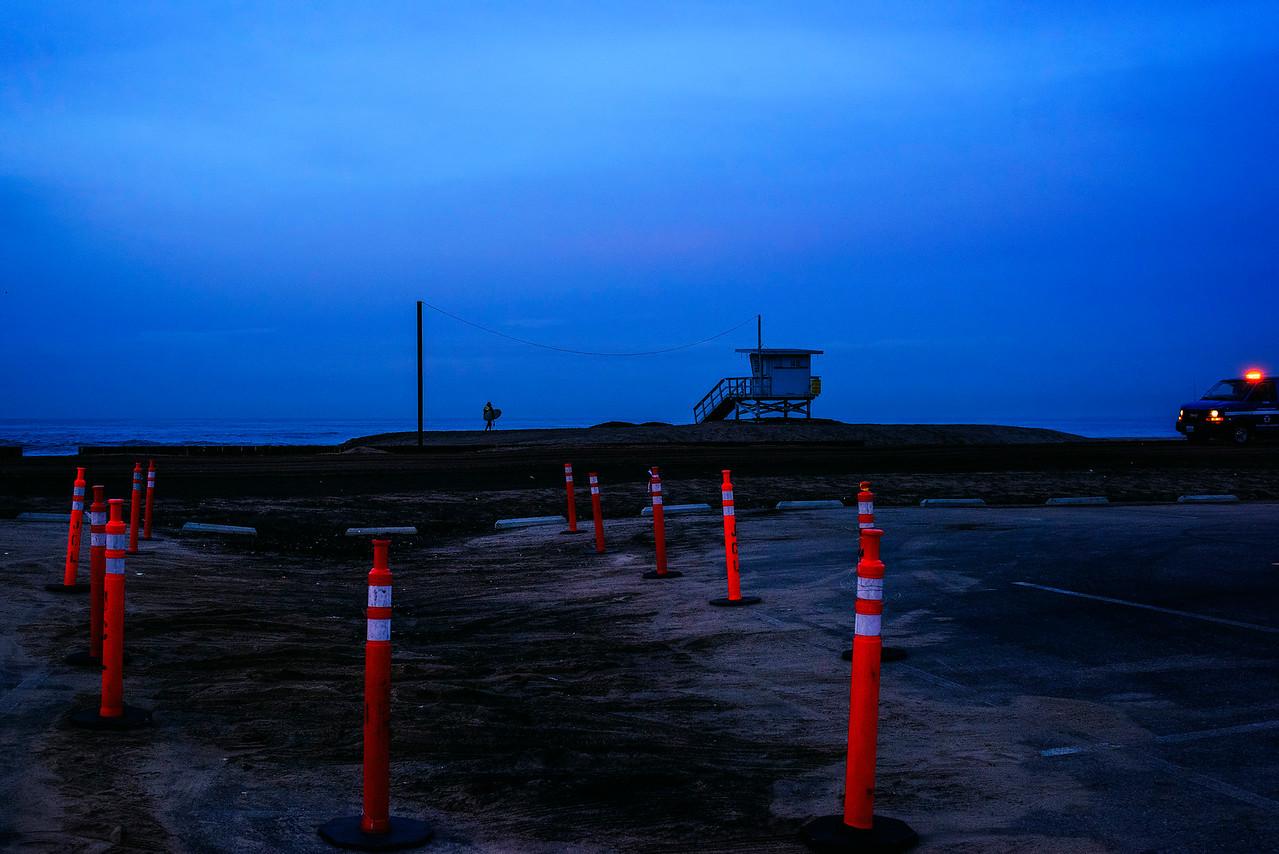 Ron Hall | Dockweiler Beach before sunrise
