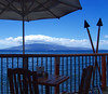 Looking at Lana'i from Kimo's restaurant on Front Street