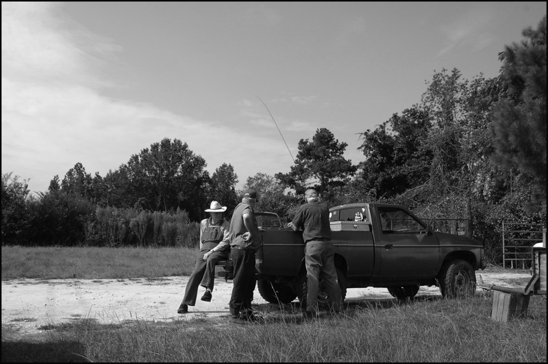 Farmers going fishing , Andrews South Carolina
