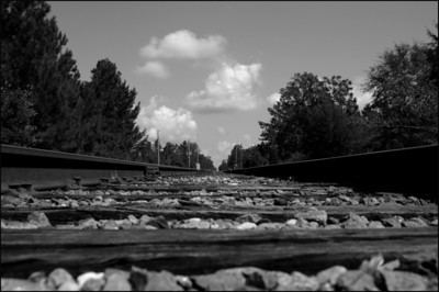 Railroad Tracks, Andrews South Carolina