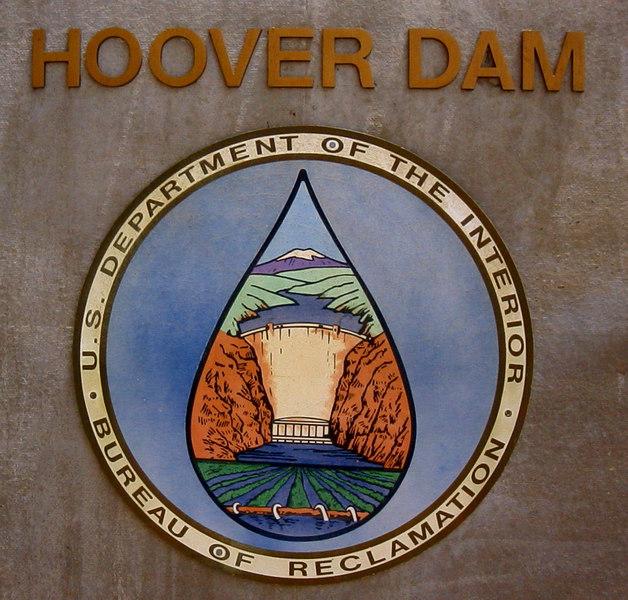 Hoover Dam Colorado River - March 1999