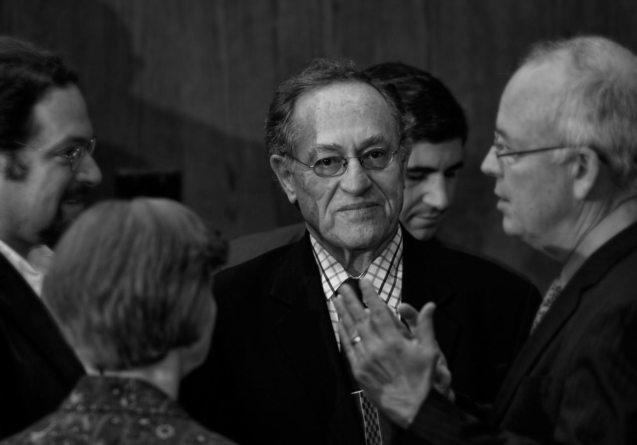 Ron Hal | Alan Dershowitz