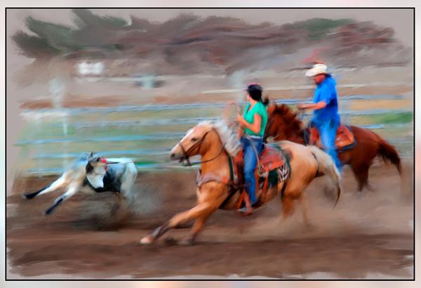 calf-roping