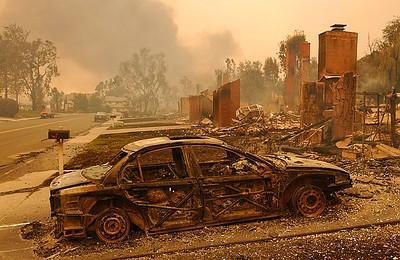 Burned-BMW