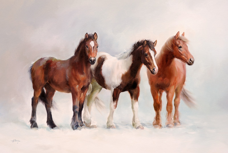 'The Winter Ponies' by Jacqueline Stanhope