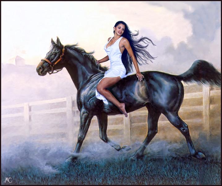 Patrice-on-Black-horse