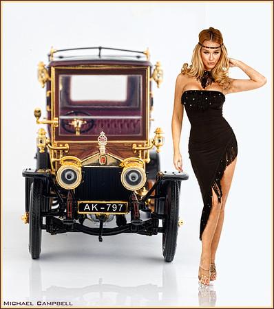 rolls-black-dress