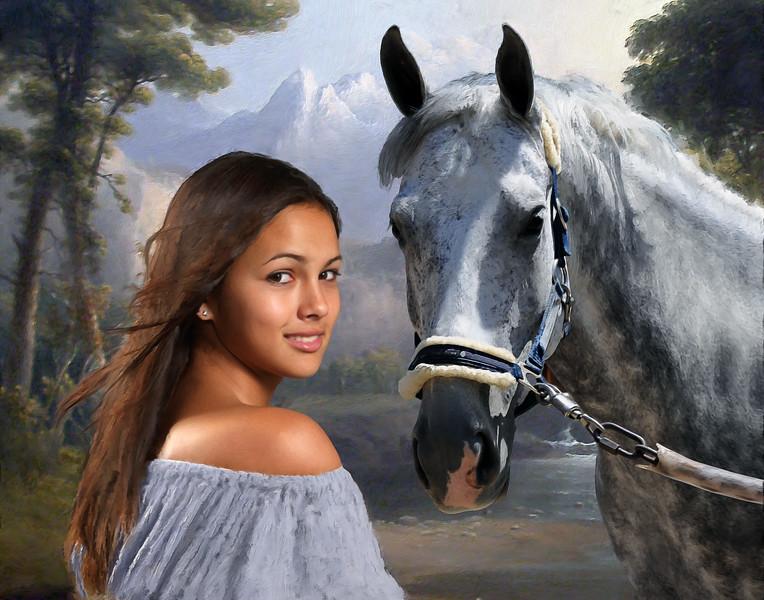 Kiana Horse 11x14