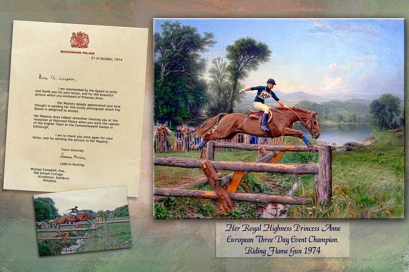 princess anne  and ltr 12x18