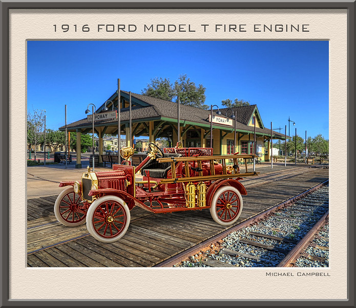 Poway-Fire-engine