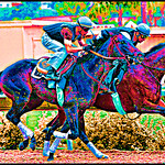 horses-abstractflat