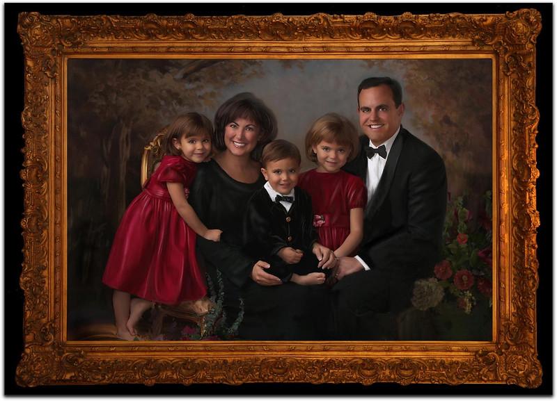 Rod Evans Family Framed