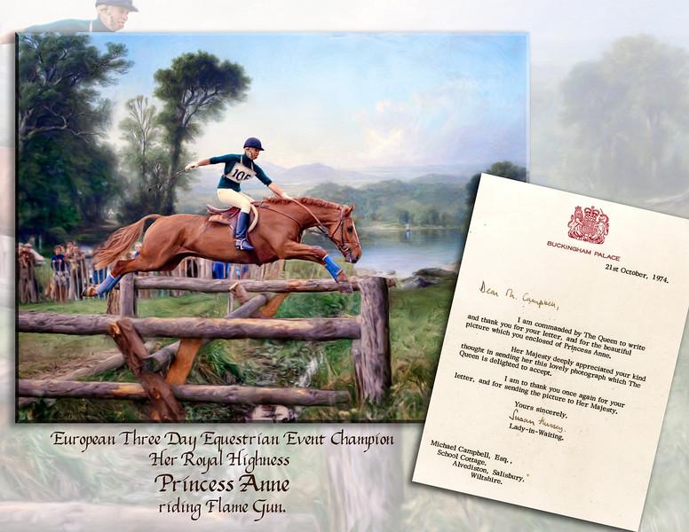 Princess Anne flat Page