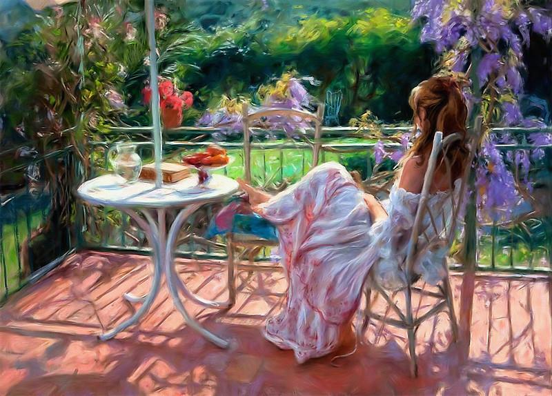 Maria-Rosario-on-Balcony-Italy