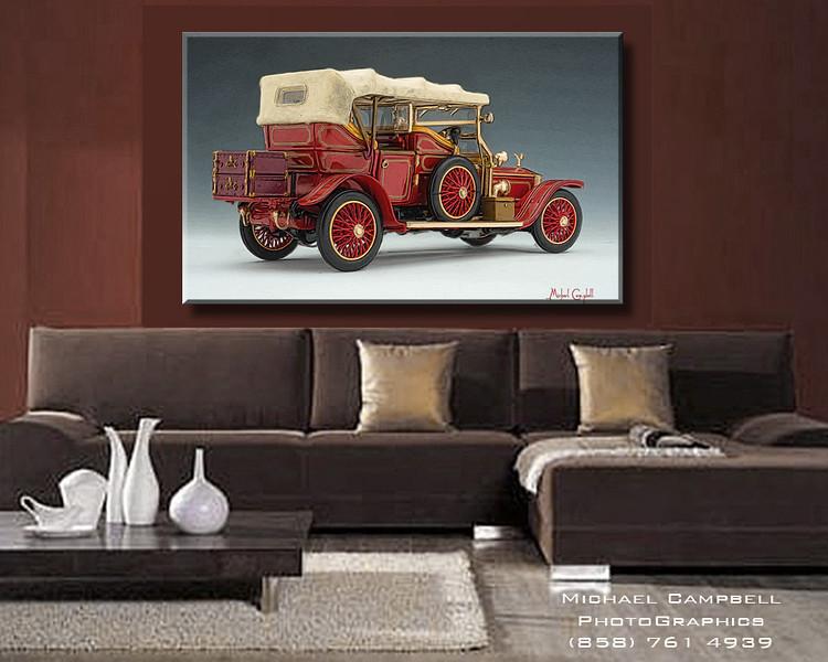 Red-1911-rolls-sofa