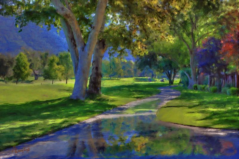 Pauma-Golf-painting-#1