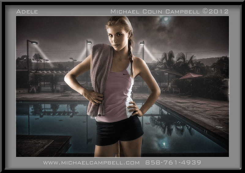 Adele-pool-y