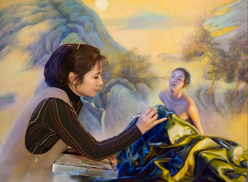 Jia-Lu-in-painting