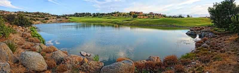 Santa Luz lake