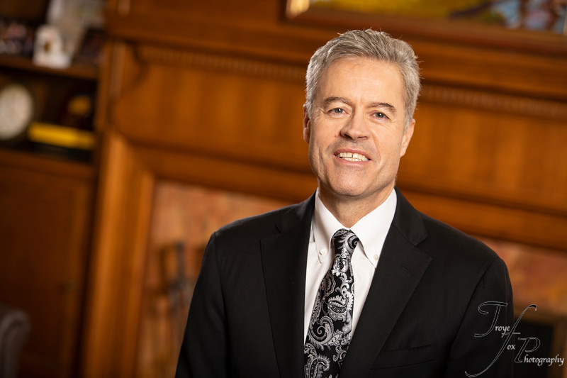 Chancellor Mark Mone Portrait